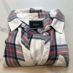 Rails Flannel Button Down M
